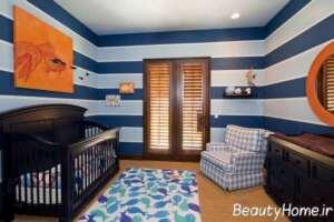 دیزاین داخلی برای اتاق نوزاد