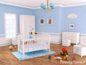 دیزاین داخلی مخصوص اتاق نوزاد