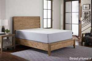 تخت باکس دار چوبی