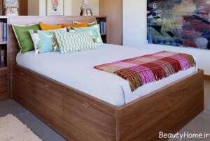 طرح تخت خواب باکس دار