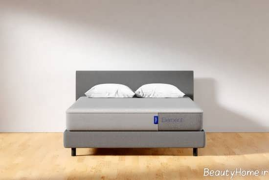 تخت خواب باکس دار طوسی
