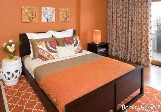 دکوراسیون اتاق خوب نارنجی