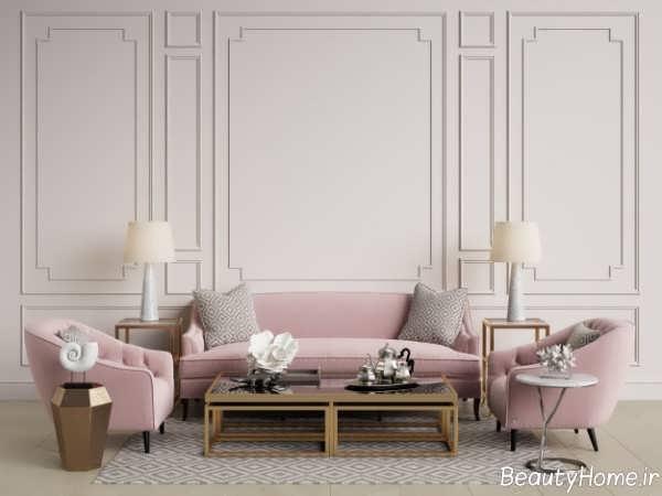 دیزاین داخلی نیمه کلاسیک