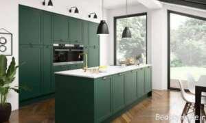 طراحی داخلی آشپزخانه نیمه کلاسیک