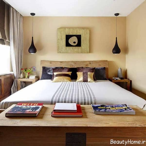 دکوراسیون اتاق خواب نیمه کلاسیک