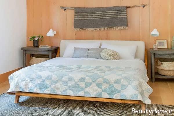 دکوراسیون نیمه کلاسیک مخصوص اتاق خواب