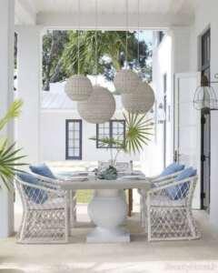 میز و صندلی بالکن