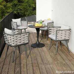میز و صندلی برای تراس