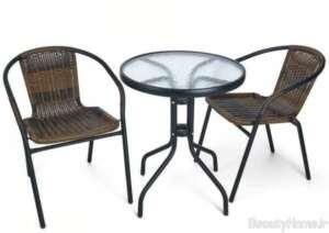 طرح میز و صندلی تراس