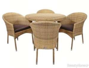 میز و صندلی شیک برای تراس