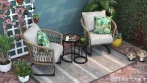 میز و صندلی شیک مخصوص تراس
