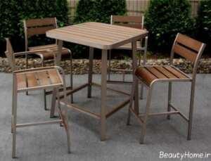 میز و صندلی مخصوص تراس