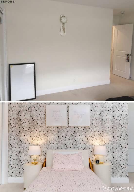 بازسازی ساده اتاق خواب