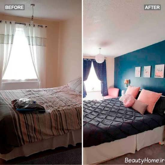ایجاد تغییر در دکوراسیون اتاق خواب