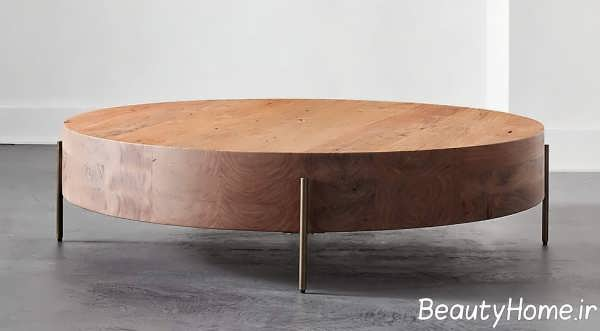 میز چوبی قهوه خوری