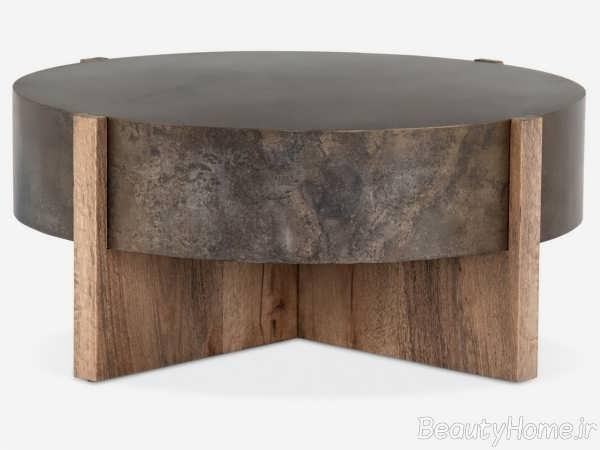 مدل میز قهوه خوری چوبی