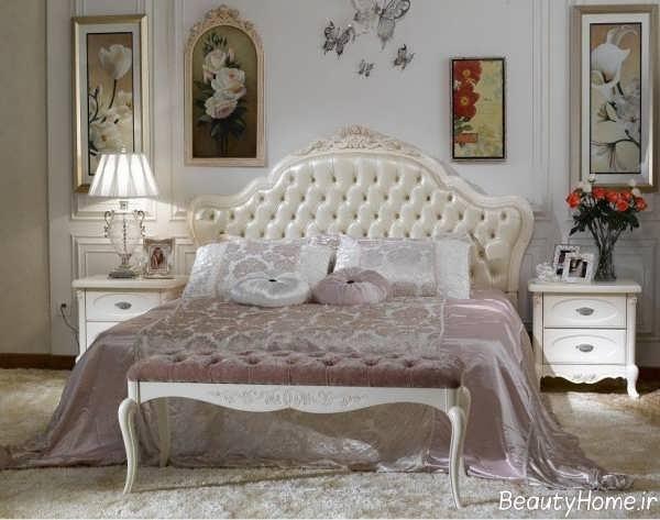 سبک دکوراسیون فرانسوی در اتاق خواب