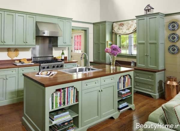 دکوراسیون آشپزخانه به سبک فرانسوی