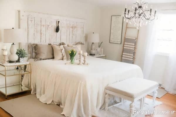 دیزاین اتاق خواب فرانسوی