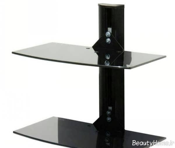 مدل میز تلویزیون شیشه ای