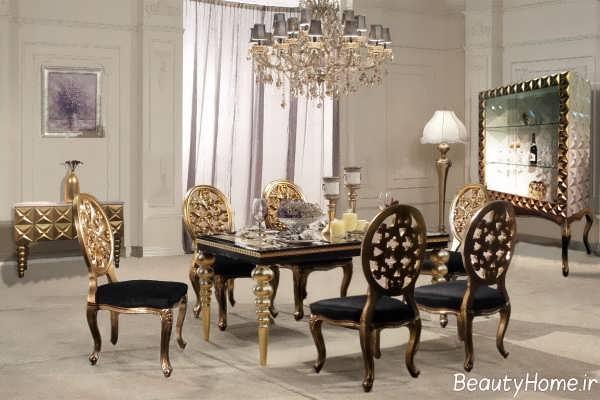 مدل میز ناهارخوری ایرانی و سلطنتی