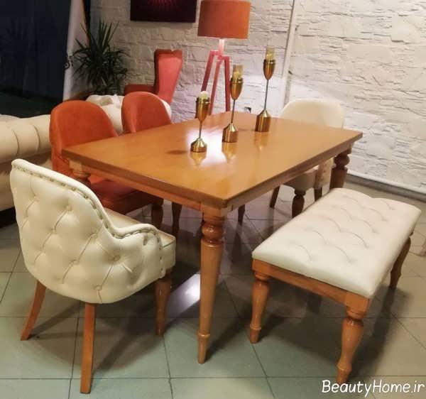 مدل میز ناهارخوری ایرانی و کلاسیک