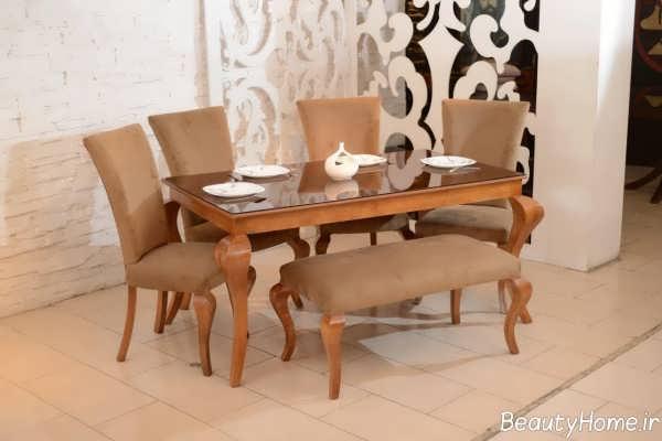 مدل میز ناهارخوری ایرانی کلاسیک