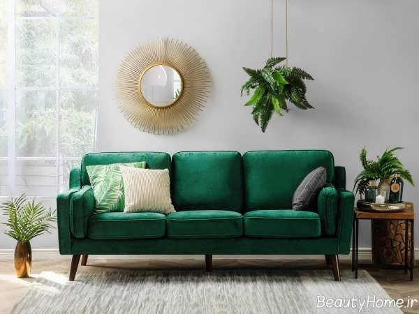 مبلمان سبز