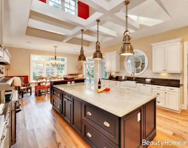 مدل کانتر کلاسیک آشپزخانه