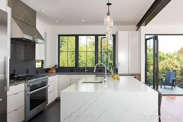مدل کانتر زیبا مخصوص آشپزخانه