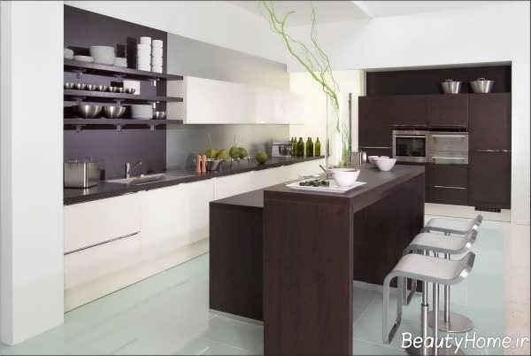 مدل کانتر آشپزخانه مدرن