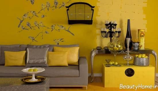 دکوراسیون لیمویی زرد