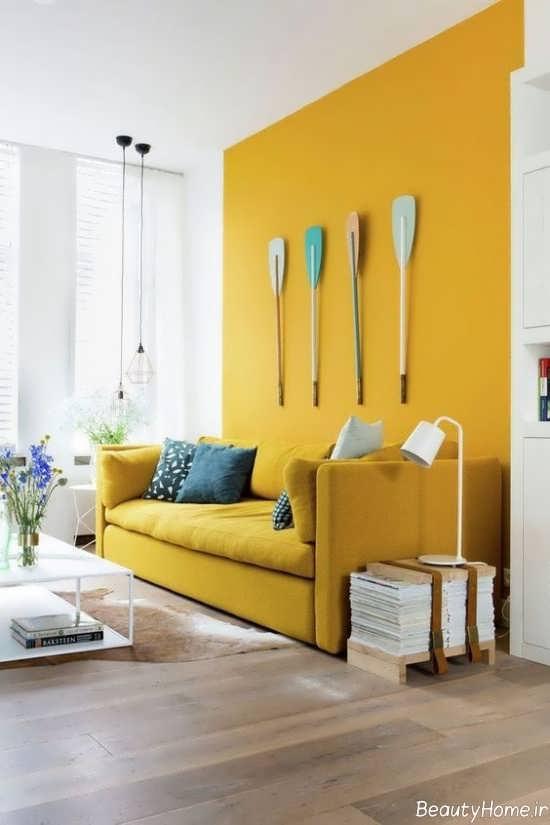 دیزاین داخلی منزل لیمویی
