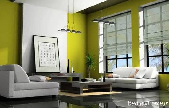 دکوراسیون لیمویی سبز