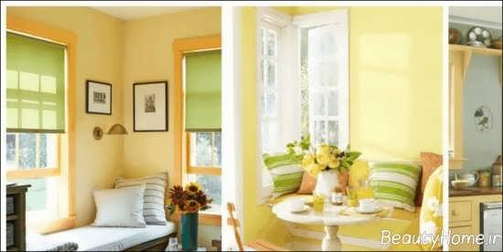 دیزاین داخلی لیمویی