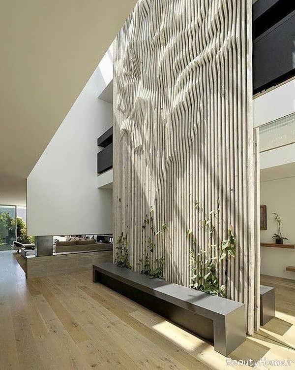 طراحی داخلی منزل به سبک پارامتریک