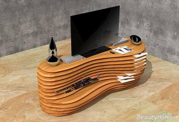 مدل میز تلویزیون پارامتریک