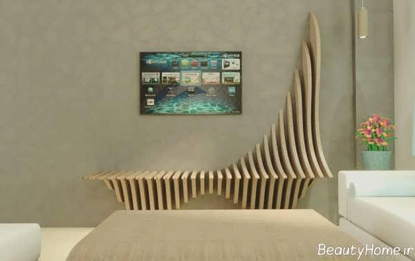 طراحی دیوار منزل به سبک پارامتریک