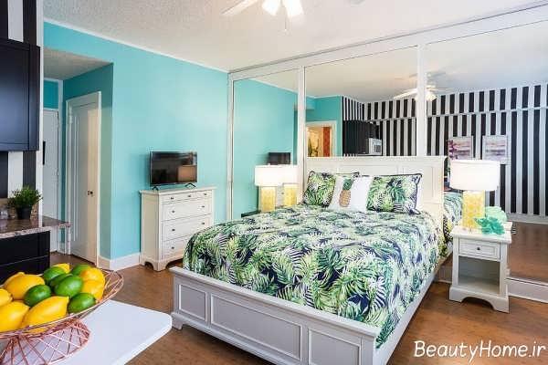 طراحی دکوراسیون تابستانی برای اتاق خواب