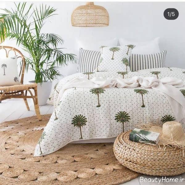 طراحی داخلی اتاق خواب تابستانی