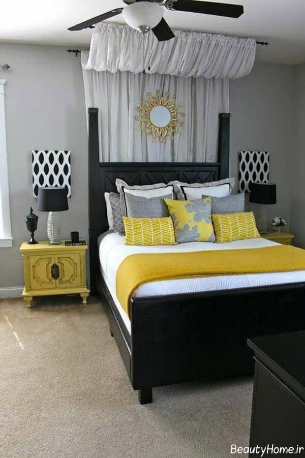 طراحی داخلی اتاق خواب به سبک تابستانی