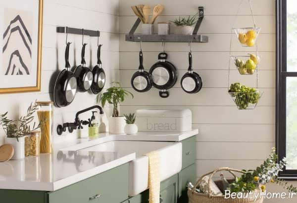 طراحی داخلی آشپزخانه تابستانی