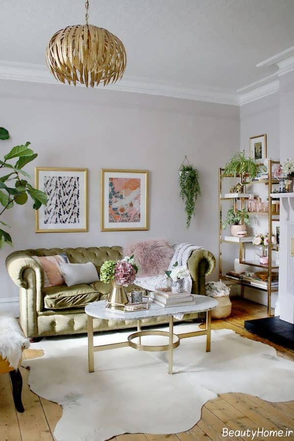 طراحی داخلی سبک گلم