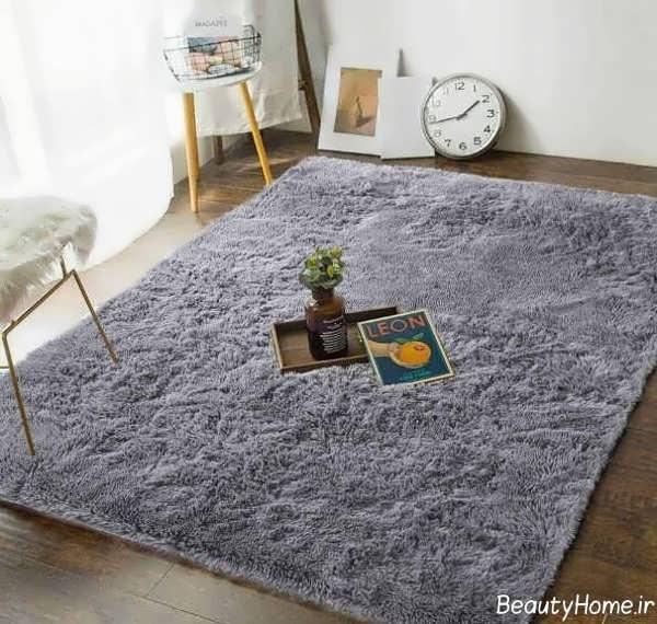 فرش طوسی شیک و خاص