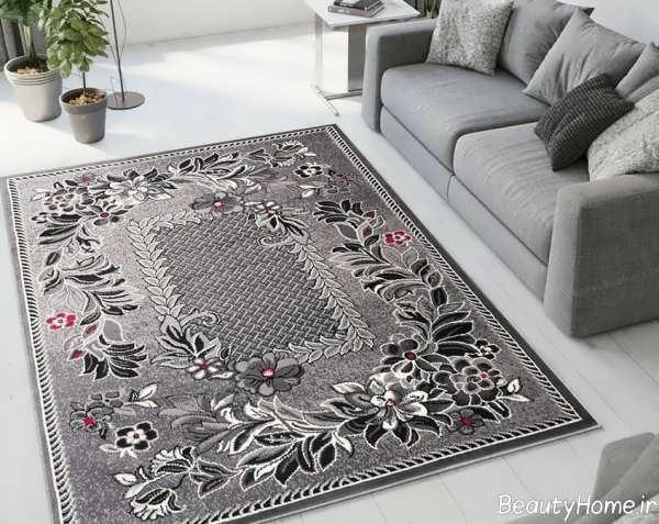 مدل فرش طوسی خاص