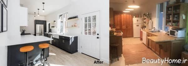نحوه تغییر در دکوراسیون آشپزخانه