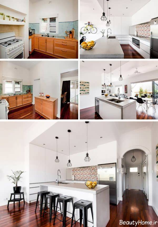 بازسازی در فضای آشپزخانه