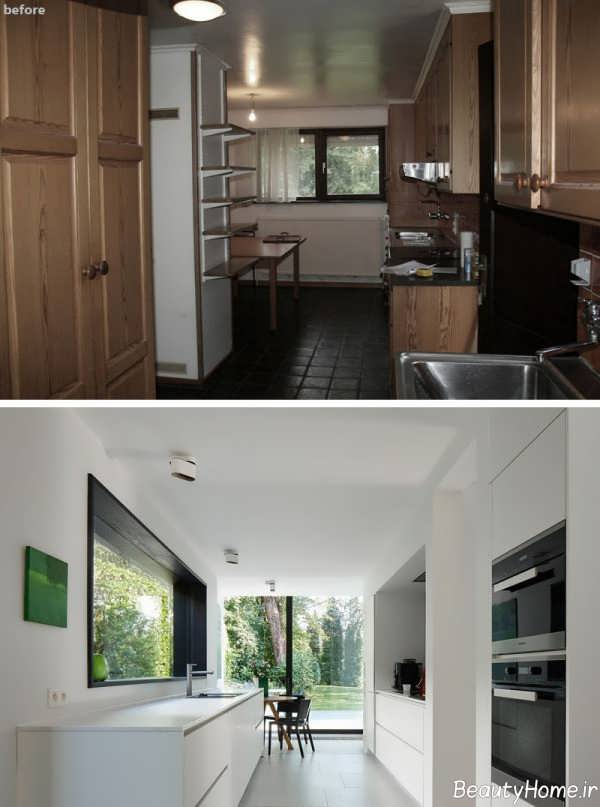 تغییر در طراحی داخلی آشپزخانه
