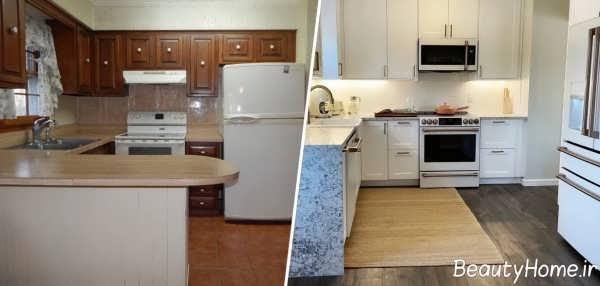 بازسازی در آشپزخانه
