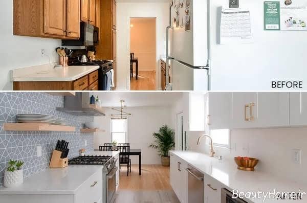 بازسازی کاربردی فضای آشپزخانه